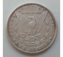 США 1 доллар 1882 серебро