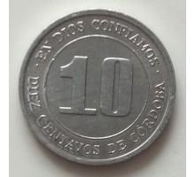 Никарагуа 10 сентаво 1974. ФАО