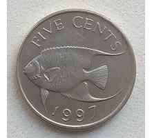 Бермуды 5 центов 1986-1998