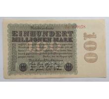Германия 100000000 марок 1923