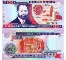 Мозамбик 5000 метикал 1991