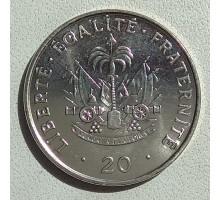 Гаити 20 сантимов 1995-2000