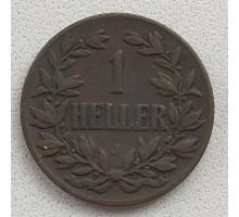 Германская Восточная Африка 1 геллер 1905