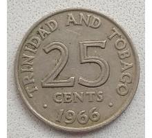 Тринидад и Тобаго 25 центов 1966-1972
