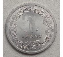 Центральная Африка 1 франк 1974-2003