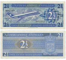 Нидерландские Антильские острова 2 1/2 гульдена 1970