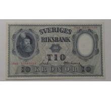 Швеция 10 крон 1945