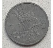 Богемия и Моравия 20 геллеров 1943