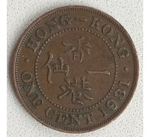 Гонконг 1 цент 1931