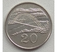 Зимбабве 20 центов 2001-2003