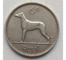 Ирландия 6 пенсов 1928