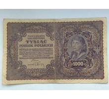 Польша 1000 злотых 1919