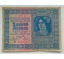 Австрия 1000 крон 1922