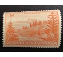 Остров Норфолк 1947 (5598)