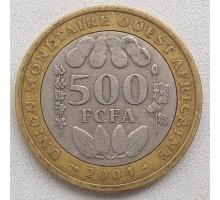 Западная Африка 500 франков 2003-2010