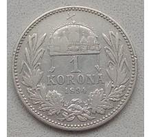Венгрия 1 крона 1894 серебро