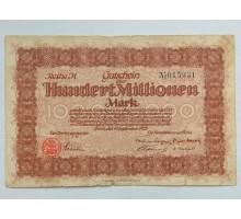 Германия (Рейнланд) 100000000 1923 нотгельд
