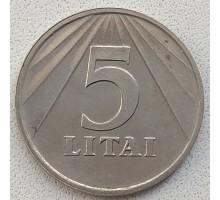 Литва 5 лит 1991