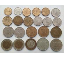 Набор 1991-1993.  Набор 23 шт