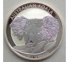 Австралия 1 доллар 2014. Австралийская Коала серебро