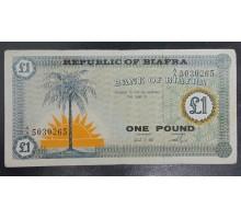 Биафра 1 фунт 1967