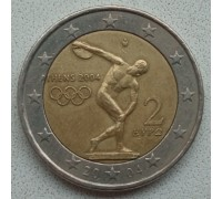 Греция 2 евро 2004. XXVIII летние Олимпийские Игры, Афины 2004