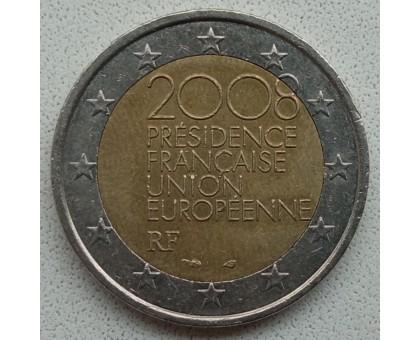 Франция 2 евро 2008. Председательство Франции в Европейском Союзе во 2-ой половине 2008 года