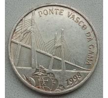 Португалия 500 эскудо 1998. Открытие моста Васко да Гама. Серебро