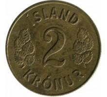 Исландия 2 кроны 1958-1966