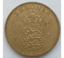 Дания 2 кроны 1957 (RS01)