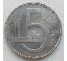 Чехословакия 5 крон 1938 (RS01)