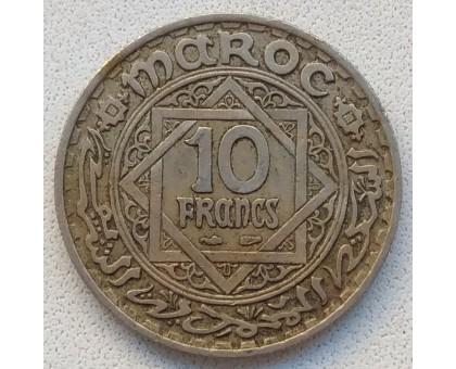 Марокко 10 франков 1947