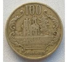 Парагвай 100 гуарани 1990