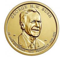 США 1 доллар 2020. Президент США - Джордж Буш (1989-1993)