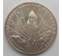"""Маршалловы острова 5 долларов 1988. Космический корабль """"Discovery"""""""