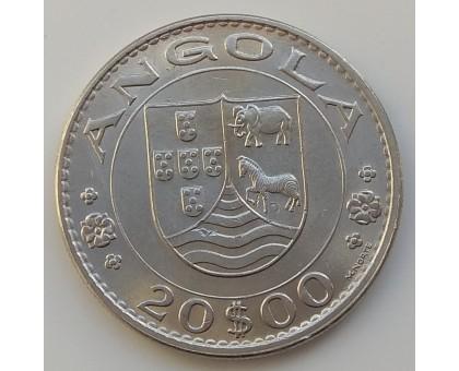 Ангола 20 эскудо 1971-1972