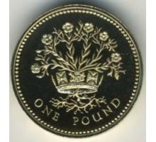 Великобритания 1 фунт 1986-1991
