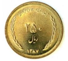 Иран 250 риалов 2008-2011
