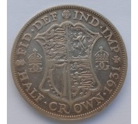Великобритания 1/2 кроны 1931 серебро