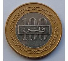 Бахрейн 100 филсов 2002-2008