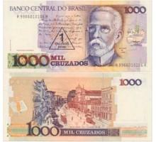 Бразилия 1 новый крузадо 1989
