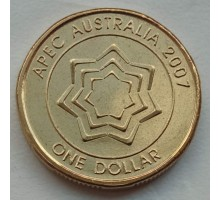 Австралия 1 доллар 2007. Саммит АТЭС-2007 в Австралии