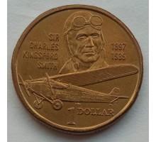 Австралия 1 доллар 1997. 100 лет со дня рождения Чарльза Кингсфорда Смита