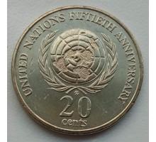 Австралия 20 центов 1995. 50-летие Организации Объединенных Наций