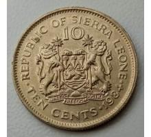 Сьерра-Леоне 10 центов 1978-1984