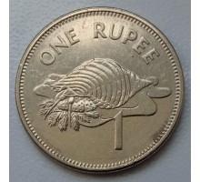 Сейшелы 1 рупия 2010 магнитная