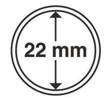 Капсулы для монет 22 мм