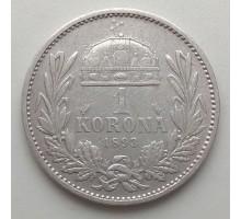 Венгрия 1 крона 1893 серебро