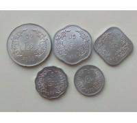 Мьянма (Бирма) 1966. Генерал Аун Сан. Набор 5 монет.