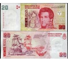 Аргентина 20 песо 2018